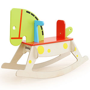 Rokki Rocking Horse - traditional toys & games
