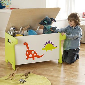 Dinosaur Toy Box And Desk - toy boxes & chests