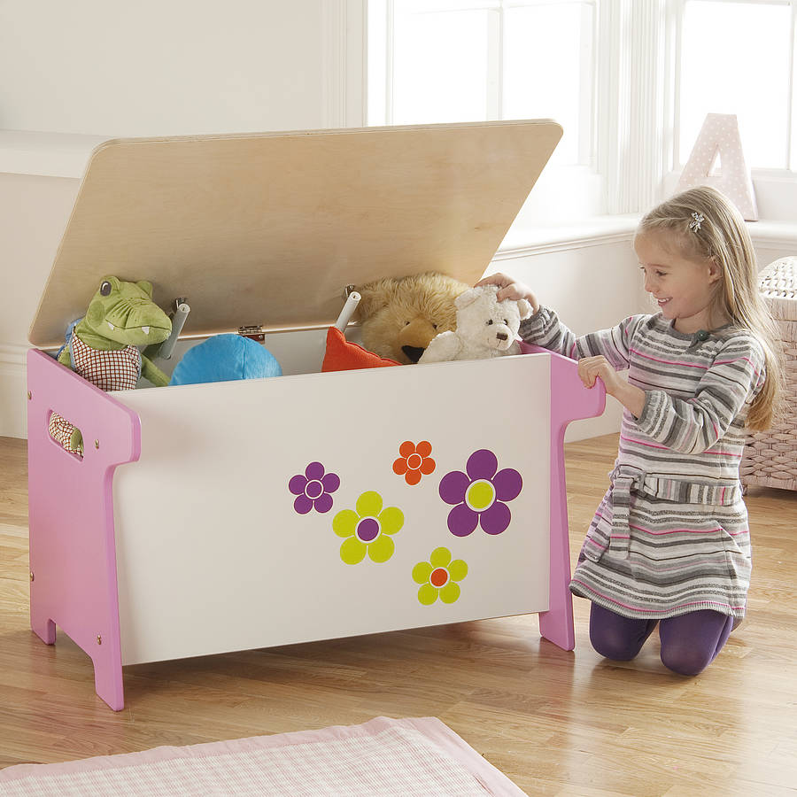 flower toy box and desk by millhouse. Black Bedroom Furniture Sets. Home Design Ideas