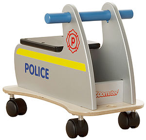 Zoomster Police Car - cars & trains