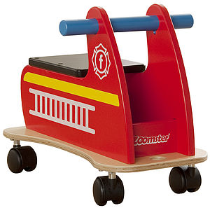 Zoomster Fire Engine - traditional toys & games