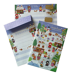 Children's Christmas Writing/Thank You Set