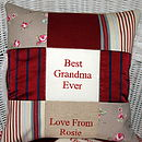'Best Grandma & Grandad' Cushion