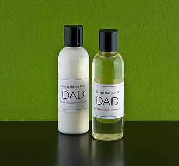 DAD Shaving Oil for Sensitive Skin 100ml
