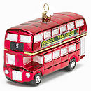 Christmas Decoration London Routemaster