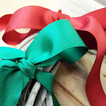 Ribbon: Grosgrain Collection 5m Lengths