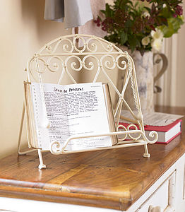 Amore Cook Book Stand - baking