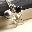 Starlet Handmade Silver Necklace