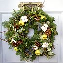 'Woodland' Fresh Scented Christmas Wreath