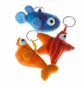 Fair Trade Sea Creature Key Ring