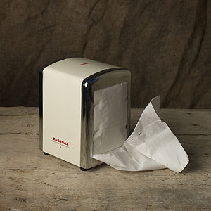 Retro Tissue Dispenser - kitchen