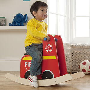 Fire Engine Rocker - children's room
