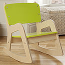 Child's Personalised Rocking Chair