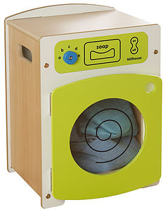 Children's Contemporary Wooden Washing Machine