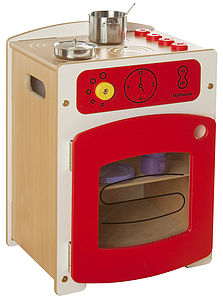 Children's Contemporary Wooden Kitchen Cooker