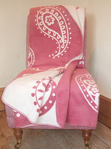 Paisley Blanket - bedding & accessories