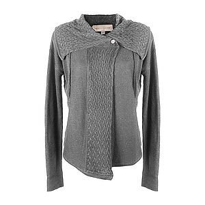 Florrines Cable Knit Cardigan - women's fashion
