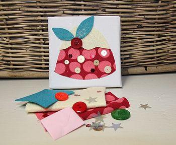 Children's Christmas Mini Art Kit