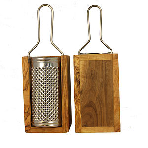 Olive Wood Cheese Grater - kitchen