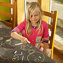 You Can Draw On Your Slate Table
