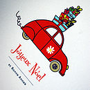 Personalised 'Driving Home' Christmas Cards