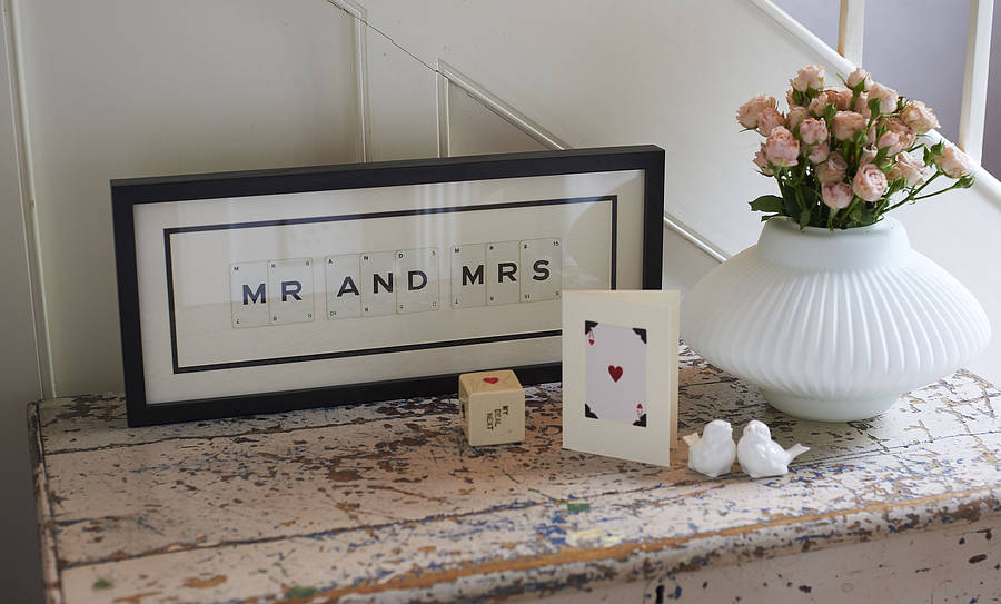 Vintage Letter Love Frames By Vintage Playing Cards