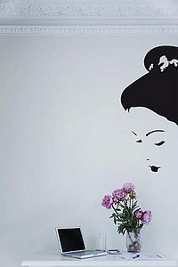 Wall Stickers: Geisha