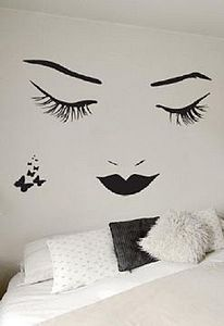 Wall Stickers: Onnanoko - bedroom