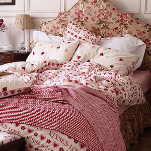 Love And Kisses Luxury Duvet Set - bed, bath & table linen