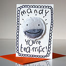 Personalised 'You're Tearrific' Card