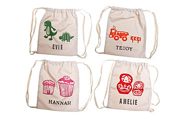 Print Personalised Children's Kit Bag