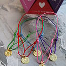 Set Of Five String Of Luck Bracelets