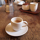 Fair Trade Espresso Cup And Saucer