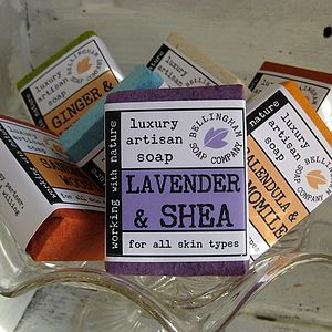 Natural Luxury Handmade Soaps - bath & body