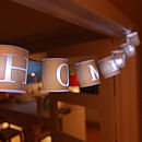 Personalised Paper Lantern Lights