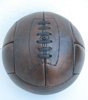 Hand Sewn Leather Football