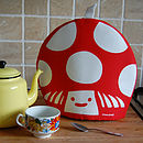mushroom tea cosie