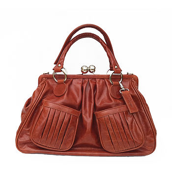 Hardwick Italian Leather Handbag
