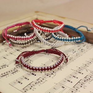 Criss Cross Friendship Bracelet - bracelets & bangles