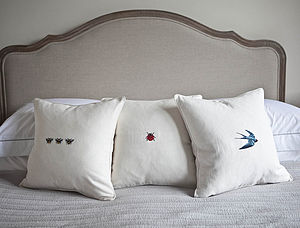 Flying Swallow Cushion - cushions