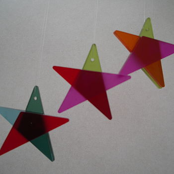 Recycled Tree Stars