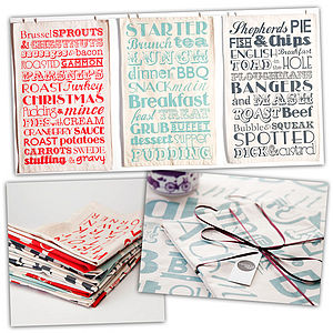 Tea Towel Bundle - aprons & tea towels