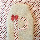 Strawberry Hot Water Bottle Cover