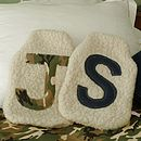 Personalised Boys Hot Water Bottle Cover
