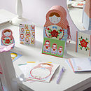 Russian Doll Stationery Box Set