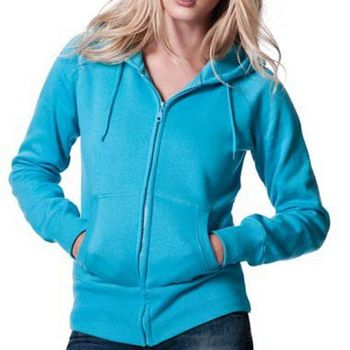 Cosy Cotton Zip-Up Hooded Sweatshirt