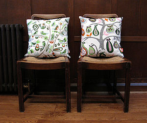 Organic Cotton Cushions - patterned cushions