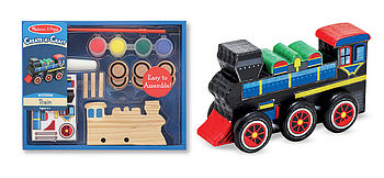 Decorate Your Own Train