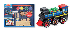 Decorate Your Own Train - cars & trains