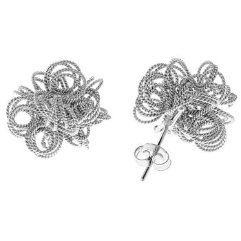 Silver Nuvola Earrings